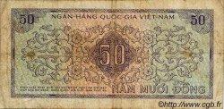 50 Dong VIET NAM SUD  1966 P.17a pr.TB