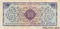 50 Dong VIET NAM SUD  1966 P.17a TTB