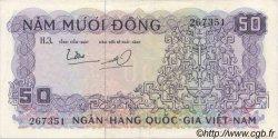 50 Dong VIET NAM SUD  1966 P.17a SUP+