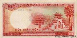 100 Dong VIET NAM SUD  1966 P.19a TTB