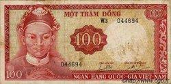 100 Dong VIET NAM SUD  1966 P.19b TB
