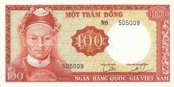 100 Dong VIET NAM SUD  1966 P.19b pr.NEUF