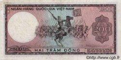 200 Dong VIET NAM SUD  1966 P.20a TB
