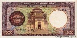 500 Dong VIET NAM SUD  1964 P.22a SPL