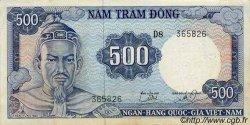 500 Dong VIET NAM SUD  1966 P.23a TTB