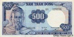 500 Dong VIET NAM SUD  1966 P.23a pr.SPL