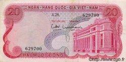 20 Dong VIET NAM SUD  1969 P.24a TTB