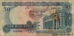50 Dong VIET NAM SUD  1969 P.25a pr.TB