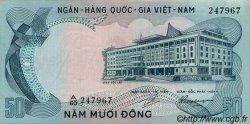 50 Dong VIET NAM SUD  1972 P.30a SPL