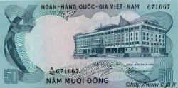50 Dong VIET NAM SUD  1972 P.30a NEUF