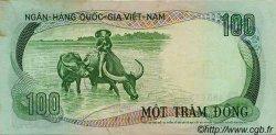 100 Dong VIET NAM SUD  1972 P.31a TTB