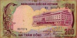 200 Dong VIET NAM SUD  1972 P.32a B à TB