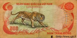 500 Dong VIET NAM SUD  1972 P.33a TB