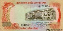 500 Dong VIET NAM SUD  1972 P.33a TTB