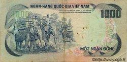 1000 Dong VIET NAM SUD  1972 P.34a TB