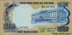 1000 Dong VIET NAM SUD  1972 P.34a SUP
