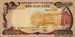 5000 Dong VIET NAM SUD  1975 P.35a SUP+