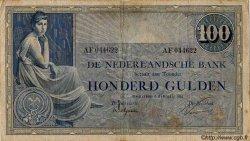 100 Gulden PAYS-BAS  1922 P.039a TB+
