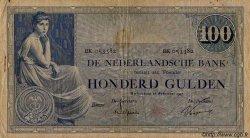 100 Gulden PAYS-BAS  1927 P.039d TB à TTB