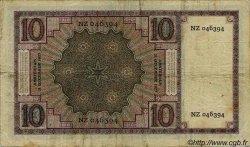 10 Gulden PAYS-BAS  1927 P.043b TB+