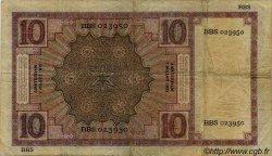 10 Gulden PAYS-BAS  1931 P.043c pr.TB