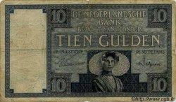 10 Gulden PAYS-BAS  1931 P.043c TTB