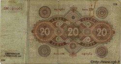 20 Gulden PAYS-BAS  1931 P.044 TB