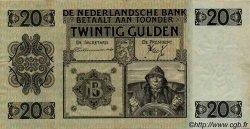 20 Gulden PAYS-BAS  1936 P.044 pr.SUP