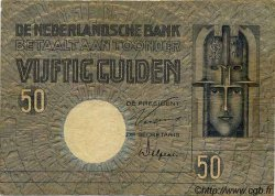 50 Gulden PAYS-BAS  1929 P.047 pr.TTB