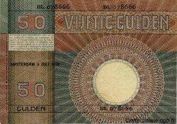 50 Gulden PAYS-BAS  1930 P.047 TTB+