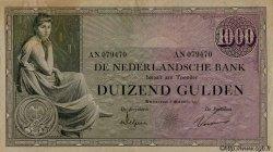 1000 Gulden PAYS-BAS  1926 P.048 SUP