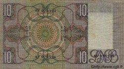 10 Gulden PAYS-BAS  1933 P.049 TB