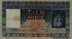 10 Gulden PAYS-BAS  1933 P.049 TB+