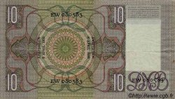 10 Gulden PAYS-BAS  1935 P.049 TTB à SUP
