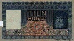 10 Gulden PAYS-BAS  1935 P.049 TTB+