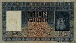 10 Gulden PAYS-BAS  1935 P.049 TB