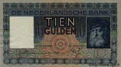 10 Gulden PAYS-BAS  1936 P.049 TTB+