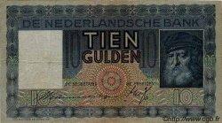 10 Gulden PAYS-BAS  1938 P.049 TTB+