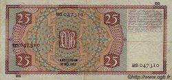 25 Gulden PAYS-BAS  1937 P.050 TTB