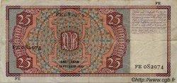 25 Gulden PAYS-BAS  1940 P.050 TTB