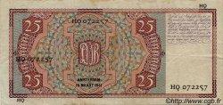 25 Gulden PAYS-BAS  1941 P.050 TTB