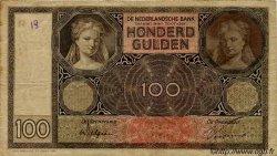 100 Gulden PAYS-BAS  1930 P.051a TB