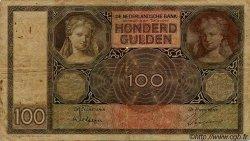 100 Gulden PAYS-BAS  1930 P.051a B à TB
