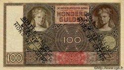 100 Gulden PAYS-BAS  1942 P.051c TTB+