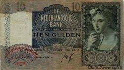 10 Gulden PAYS-BAS  1941 P.056a TB+