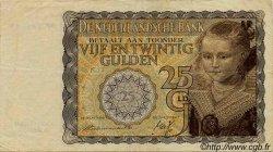 25 Gulden PAYS-BAS  1940 P.057 TTB