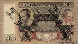 50 Gulden NETHERLANDS  1941 P.058 aXF