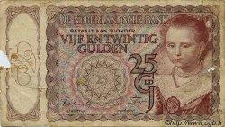 25 Gulden PAYS-BAS  1943 P.060 B