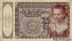 25 Gulden PAYS-BAS  1944 P.060 TTB