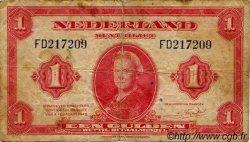 1 Gulden PAYS-BAS  1943 P.064 B à TB